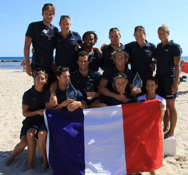 Allicante 2011 l'équipe de France présente