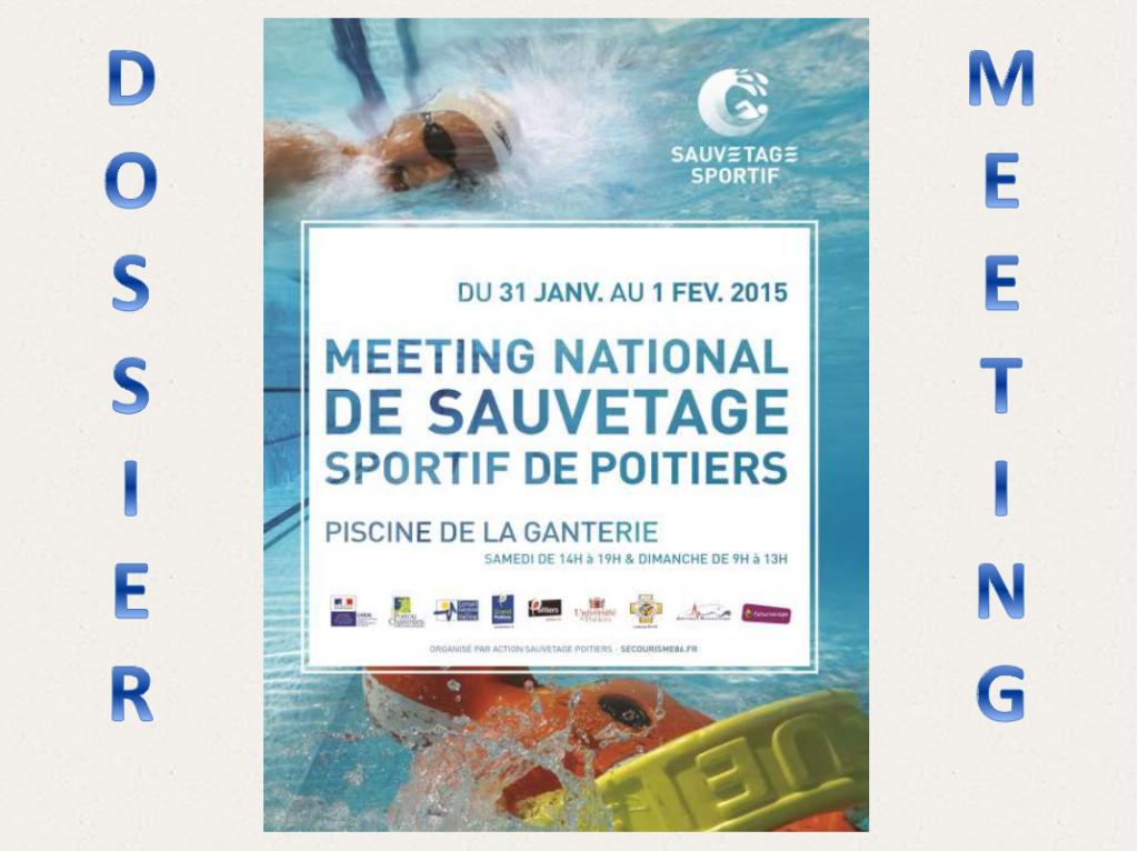 Meeting National de Sauvetage Sportif – Poitiers